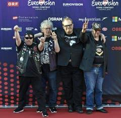 Band 'Pertti Kurikan Nimipaivat', Finnland. (Bild: Keystone)
