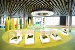 Das Museum soll den Besuchern laut Fifa-Angaben die gesamte Breite des internationalen Fussball und sein völkerverbindendes Element näher bringen. (Bild: Keystone / Ennio Leanza)