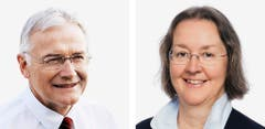 JURA - Claude Heche (bisher), SP und Anne Seydoux-Christe (bisher), CVP. (Bild: Keystone / Handout)