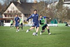 Im März 2010 wird Seoane aus der 1. Mannschaft verbannt und muss fortan mit dem Nachwuchs trainieren. (Bild: Manuela Jans)