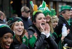 In Boston wurde der St.Patrick's Day ebenfalls bereits am Sonntag gefeiert. (Bild: Keystone)