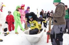 Es müssen nicht immer Skier sein. (Bild: Ernst Immoos/Bote der Urschweiz)