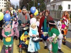 Kinderfasnacht Hergiswil. (Bild: Kurt Liembd / Neue NZ)
