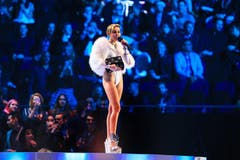 Myley Cyrus (Best Video - Wrecking Ball') (Bild: Keystone)