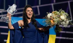 Jamala freut sich über ihren Sieg beim Eurovision Song Contest. (Bild: MAJA SUSLIN)