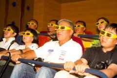 Einblick in ein 3D-Kino in Pyongyang. (Bild: Martin von den Driesch)