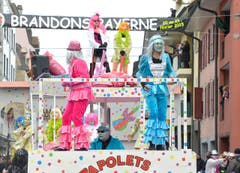 Carneval in Payerne (Bild: CHRISTIAN BRUN)