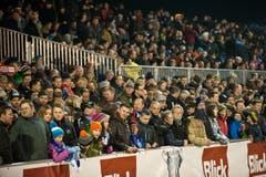 Impressionen vom Cup Viertelfinal zwischen Buochs und St. Gallen. (Bild: Boris Bürgisser (Neue LZ))