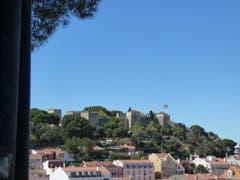 Lisboa, mit Castelo de Jorge. (Bild: Josef Habermacher)