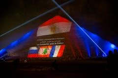 Die grosse Pyramide von Gize. (Bild: AP Photo/Thomas Hartwell)