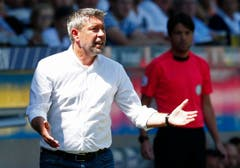 Basel-Trainer Urs Fischer. (Bild: Keystone / Thomas Hodel)