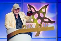 In der Kategorie «Kabarett/Comedy» gewann Peach Weber den Prix Walo. (Bild: KEYSTONE/Ennio Leanza)