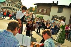 Auch musikalische Unterhaltung war vorhanden. (Bild: Markus von Rotz)