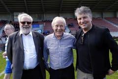 Paul Wolfisberg,Köbi Kuhn und Martin Andermatt (von links). (Bild: Werner Schelbert / Neue ZZ)