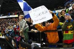 Liebling der Fans: EVZ-Spieler Reto Suri, der am Dienstagabend zwei Tore schoss. (Bild: Stefan Kaiser / Neue ZZ)