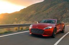 Aston Martin Rapide S: Der auch optisch klar athletischer wirkende Rapide S bietet mit 558 PS neu 17 Prozent mehr Leistung unter der Haube. (Bild: PD)