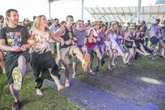 Die Stimmung ruft nach einem Linedance. (Bild: André A. Niederberger / Neue NZ)