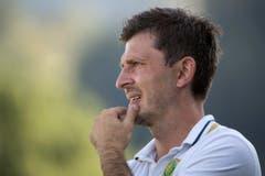 Der Krienser Trainer Jurendic Marinko. (Bild: Keystone / Marcel Bieri)