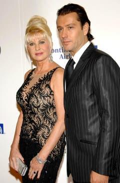 Ivana Trump, inzwischen mit Rossano Rubicondi verheiratet, erhielt von Donald nach 15 Ehejahren 25 Millionen Dollar. (Bild: Keystone)