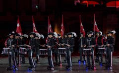 «Top Secret Drum Corps» (Bild: Keystone / Patrick Staub)