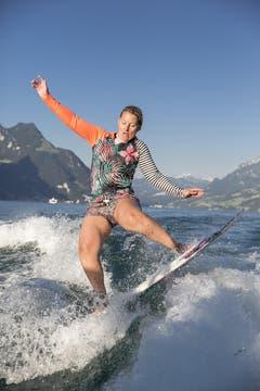 Zu Gast war auch eine der weltweit talentiertesten Freestylerin ihrer Klasse (Bild: André A. Niederberger / Neue NZ)