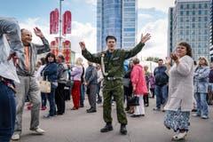 SWISS PRESS PHOTO 18 - 2. PREIS AUSLAND: NICOLAS RIGHETTI - Am 3. Juli wird in Weissrussland der Unabhängigkeitstag gefeiert. (Bild: (SWISS PRESS PHOTO/Nicolas Righetti für Lundi 13/Meteore))