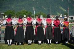 Tradition für den traditionellen Anlass. (Bild: Pius Amrein)