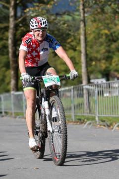 Susanne Tanner im 43km Rennen der Damen. (Bild: Philipp Schmidli)