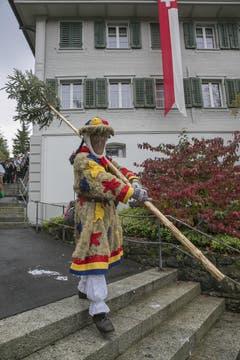 Ein «Buizi» mit seinem «Grotzli». (Bild: André A. Niederberger)