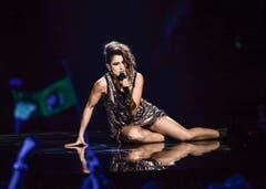 Barei ging mit ihrem Song «Say Yay!» für Spanien an den Start. (Bild: MAJA SUSLIN)