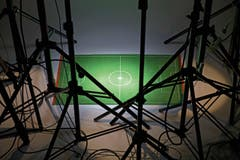 SWISS PRESS PHOTO 18 - 1. PREIS SPORT: SIMON TANNER - Bildserie über Entwicklungen, Tendenzen und die Zukunft des Fussballs. (Bild: (SWISS PRESS PHOTO/Simon Tanner für NZZ))