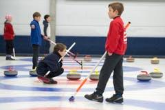 Impression vom Cherry Rockers Turnier in der Curlinghalle in Zug. (Bild: Maria Schmid)