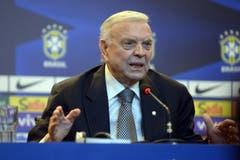 Verhaftet: José Maria Marin Präsident des brasilianischen Fussballverbandes. (Bild: EQ Images / Armando Paiva/Fotoarena)