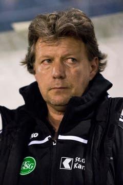 Jeff Saibene, Trainer des St. Gallen. (Bild: Keystone)