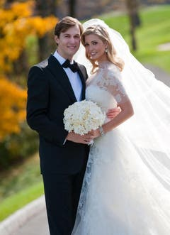 Am 25. Oktober 2009 hat Ivanka Trump Jared Kushner geheiratet. (Bild: Keystone)