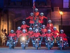 Das Imps Motorcycle Display Team aus England (Bild: Keystone / Patrick Staub)