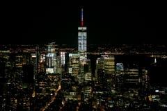 Das One World Trade Center in New York. Es wurde an jener Stelle gebaut, an dem vor dem Anschlag vom 11. September 2001 die beiden Gebäude des World Trade Centers standen. (Bild: EPA/DOMINICK REUTER)