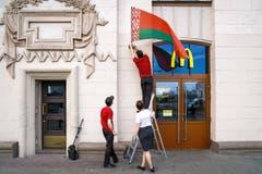 SWISS PRESS PHOTO 18 - 2. PREIS AUSLAND: NICOLAS RIGHETTI - Am 3. Juli wird in Weissrussland der Unabhängigkeitstag gefeiert. (Bild: (SWISS PRESS PHOTO/Nicolas Righetti fuer Lundi 13/Meteore))