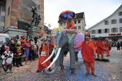 Umzug in Altdorf. (Bild: Urs Hanhart / Neue UZ)