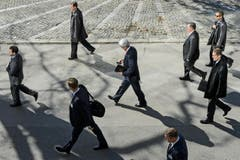 Platz 2, Kategorie Aktualität, John Kerry auf dem Weg zu Atomgesprächen mit dem Iran. (Bild: Swiss Press Photo / Jean-Christophe Bott)