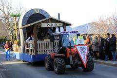 Und nochmal der Zunftmeisterwagen. (Bild: Andrea Waser / Neue NZ)