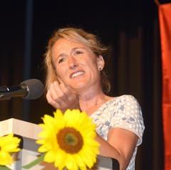 Die Festrednerin, Frau Landammann Susanne Hochuli aus dem Aargau. (Bild: Romano Cuonz (Neue NZ))