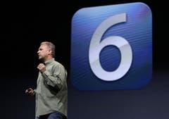 Mit dem neuen iPhone kommt auch das neues Betriebssystem. (Bild: Keystone)
