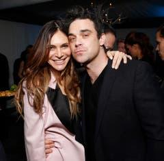 Mit seiner Frau Ayda Field ist Robbie Williams seit 2006 zusammen, 2012 kam die gemeinsame Tochter Theodora Rose zur Welt. (Bild: Keystone)
