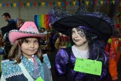 Celeste und Linda, besser gesagt die Zauberin und die schöne Hexe. (Bild: Romano Cuonz)
