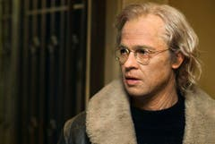"""In die Zukunft geschaut: Ein künstlich gealterter Brad Pitt in """"The Curious Case of Benjamin Button"""" (2008). (Bild: Keystone)"""