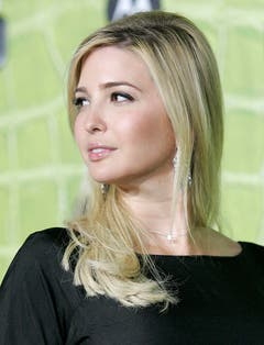 Model Ivanka Trump an der Motorola Party in Los Angeles, am 2. November 2006. (Bild: Keystone)