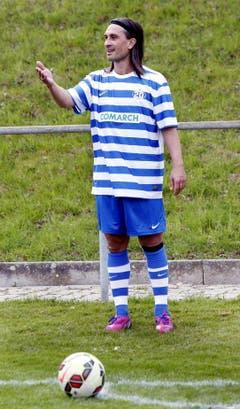 Wie einst zu seinen besten Zeiten beim FC Luzern: Hakan Yakin. (Bild: Werner Schelbert / Neue ZZ)