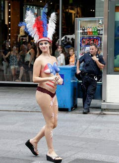 The Naked Ladies of Times Square (Bild: Keystone)