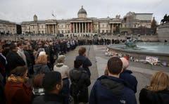 Trafalgar Square, London (Bild: AP / Philip Toscano-Heighton)